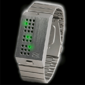 1259G-led-watch-silver-green