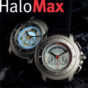 HaloMax EL flashing watch