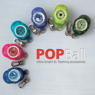 PopBall EL flashing watch